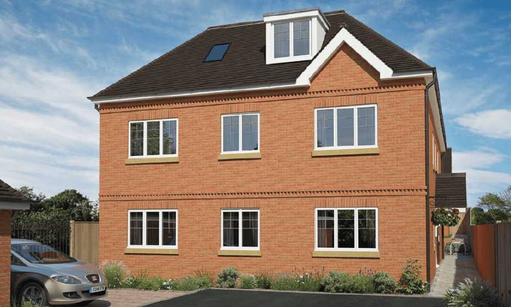 Chossy Place, new flats for sale in Epsom Surrey from Oakton Developments Ltd