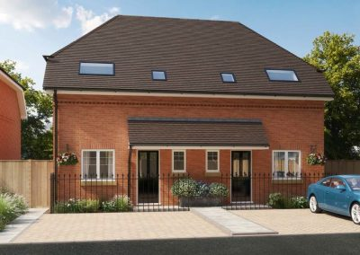 New 2 bed home in Osborne Close in Epsom Surrey