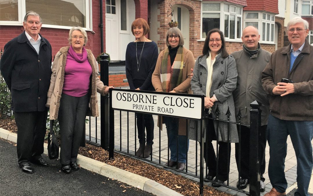 The Osbornes visit Osborne Close