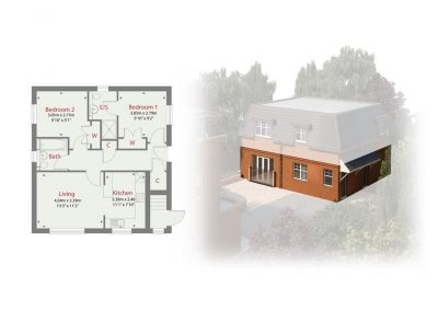 Plot 4 - Ransley House New Build Apartments Epsom Surrey