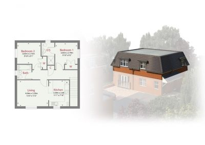 Plot 5 - Ransley House New Build Apartments Epsom Surrey